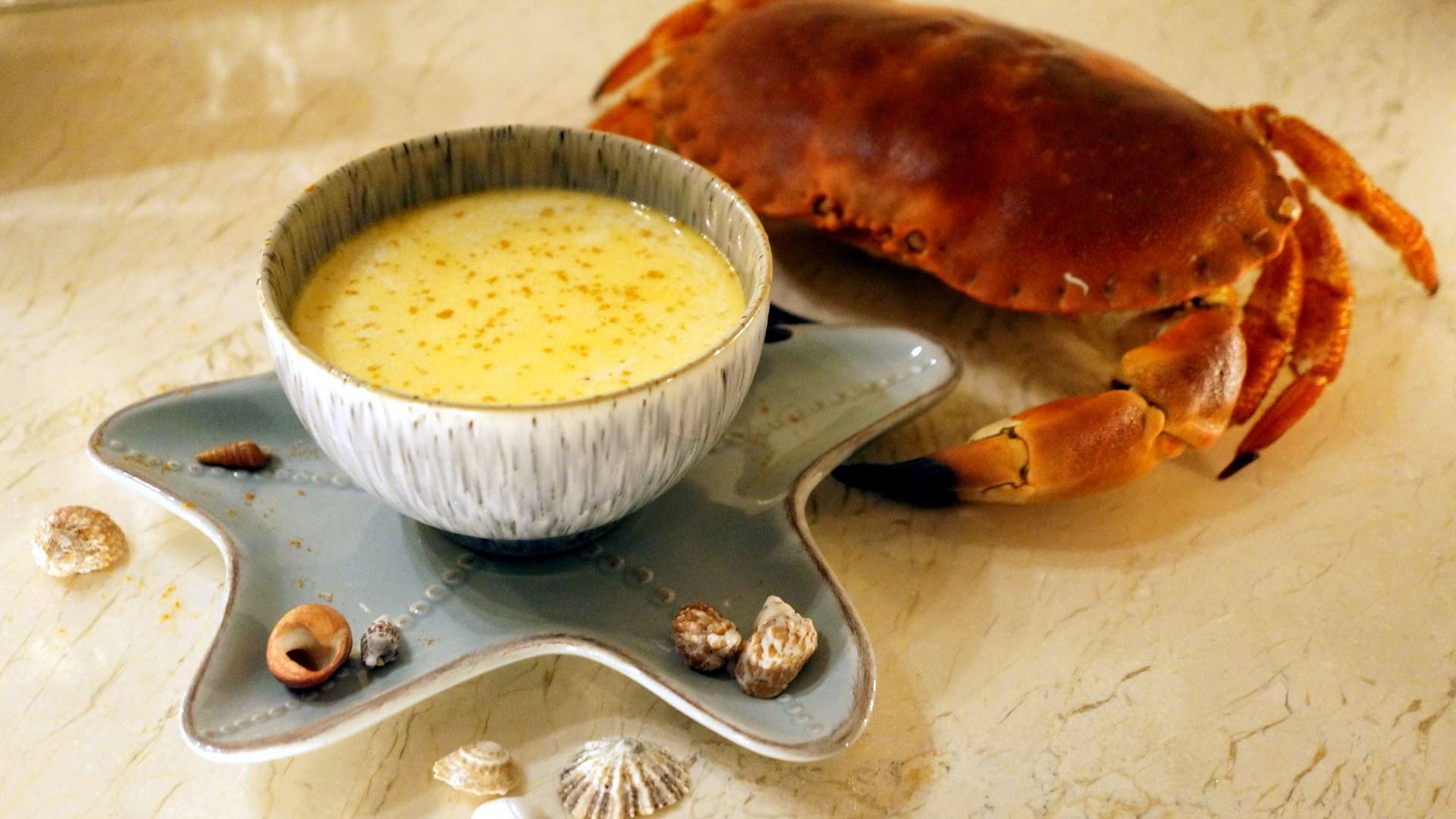 Gurmaniška krabų sriuba