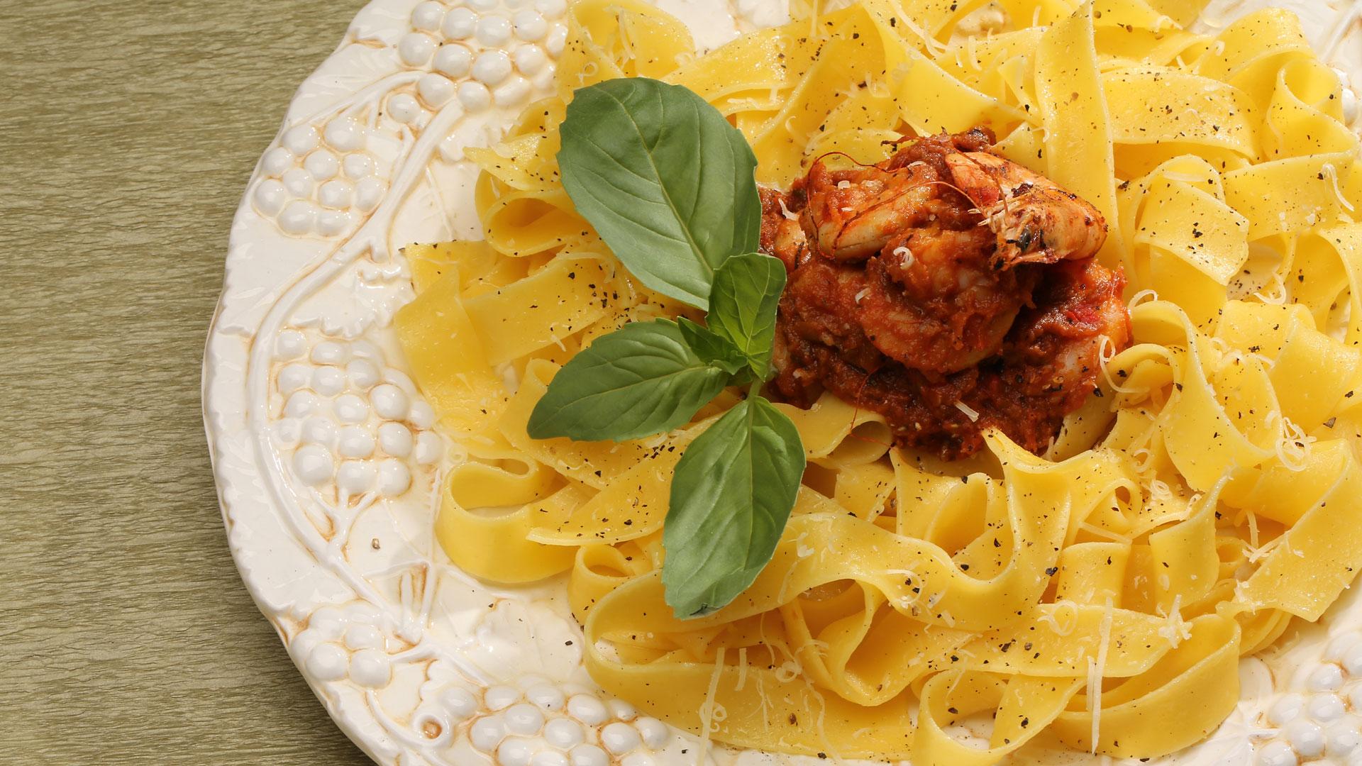 Itališki makaronai su pomidorais