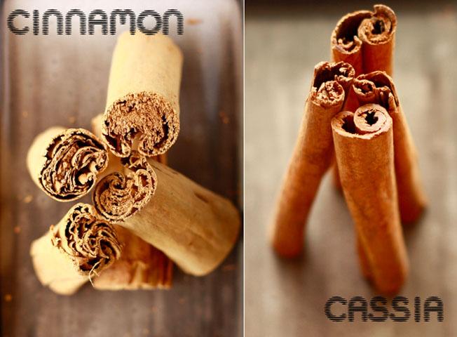 Cinnamon and Cassia